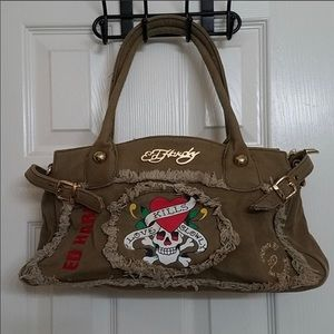 Ed Hardy Francesca Shoulder Bag/Purse